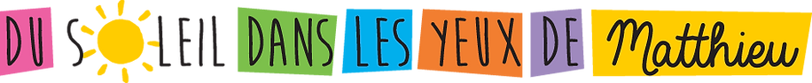 Logo de l'association Du Soleil dans les Yeux de Mtthieu
