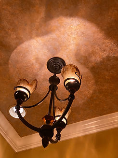 Faux Gold Foiling Ceiling Treatment.jpg
