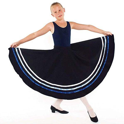 Little Ballerina Adult Character Skirt with Blue Ribbons