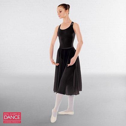 Black RAD Little Ballerina Circular Skirt