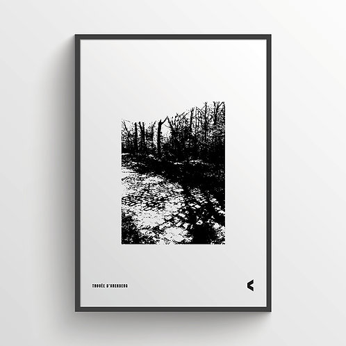 TROUÉE D'ARENBERG - The Hell of the North print