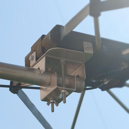Балконная антенна кв диапазона SPIDERLOOP крепление