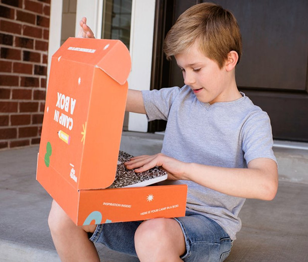 Camp in a Box comes right to your front door.