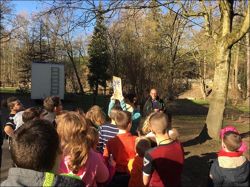 Classe verte février 2019 à Charneux - école fondamentale Ste- Gertrude Brugelette Lundi