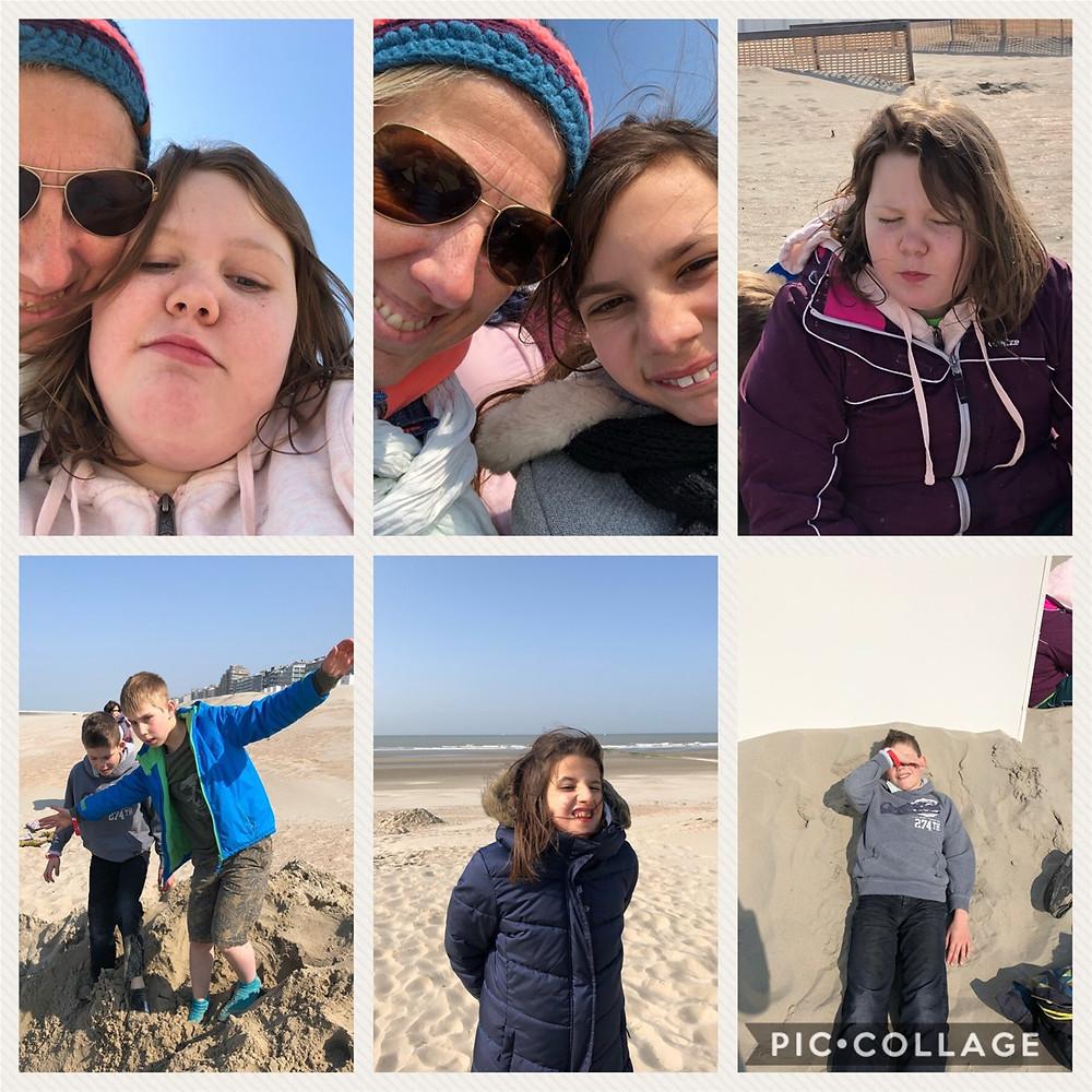 Photos de l'après-midi à la plage