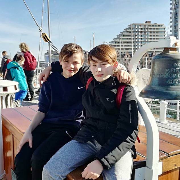 Classes de mer de Sainte-Gertrude de Brugelette février 2019 à St Idesbald Mardi