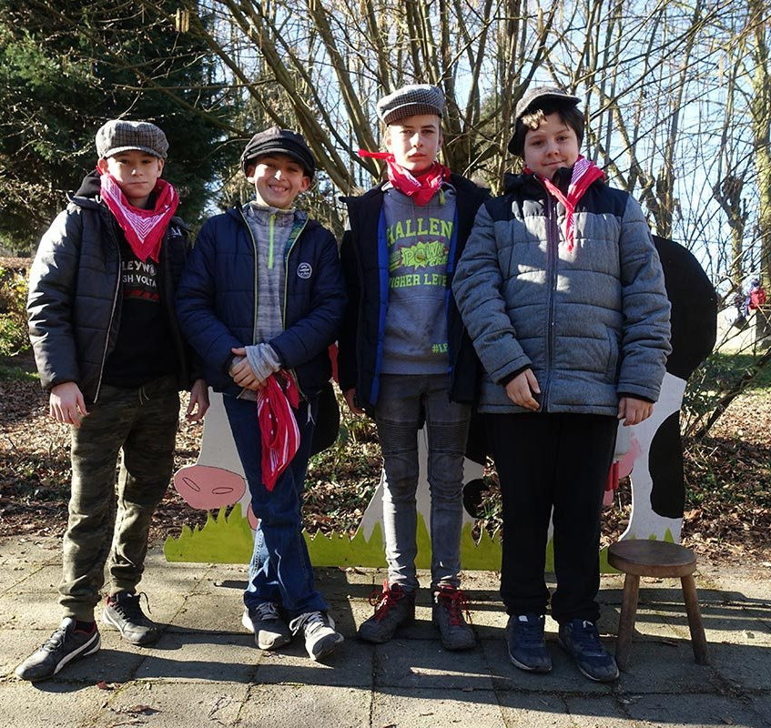 Classes vertes février 2019 de Ste Gertrude de  Brugelette à Charneux - mercredi