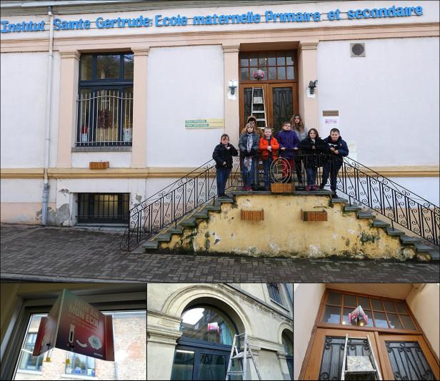 école Sainte-Gertrude Greenpeace