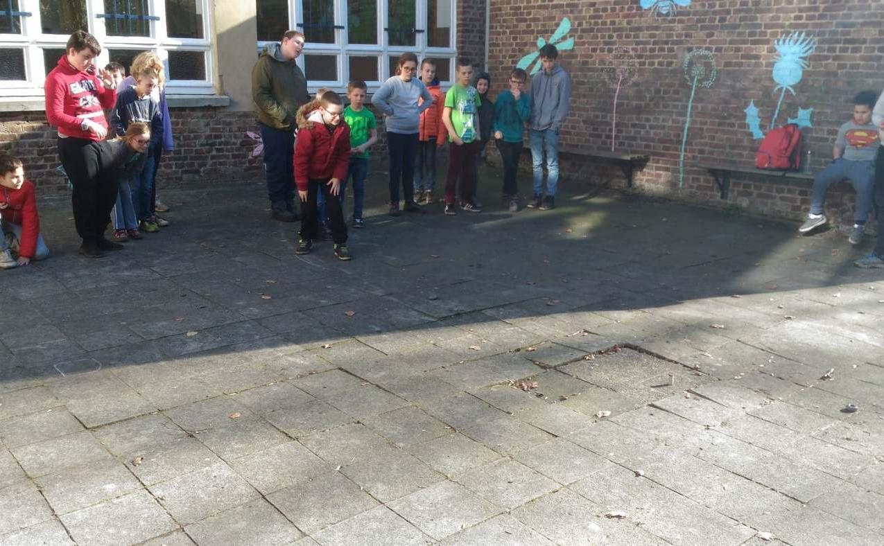 Classes vertes de l'école Ste Gertrude de Brugelette à Charneux en février 2019 - mercredi