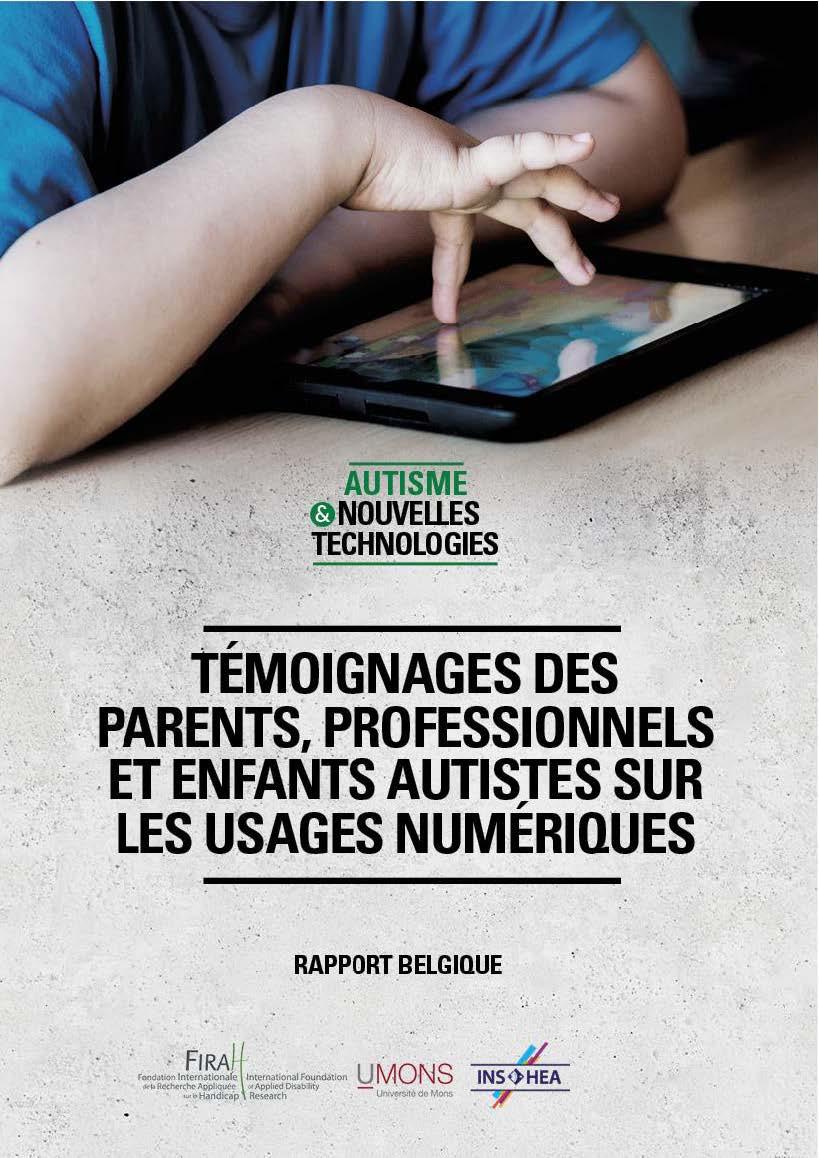 Rapport autisme & TIC Firah