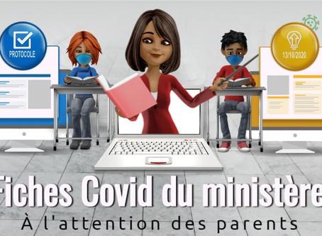 Protocole Covid à destination des parents