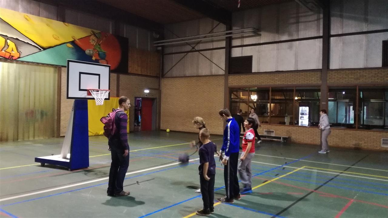 Classes vertes Ste Gertrude Maasmachelen février 2018