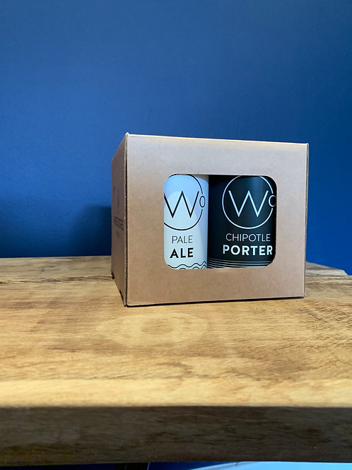 Mixed 4 Pack (2 Pale & 2 Porter)