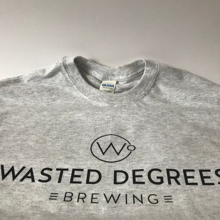 T-Shirt Wasted Degrees Brewing
