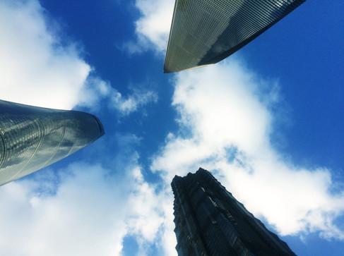 Eyeing the Shanghai skies