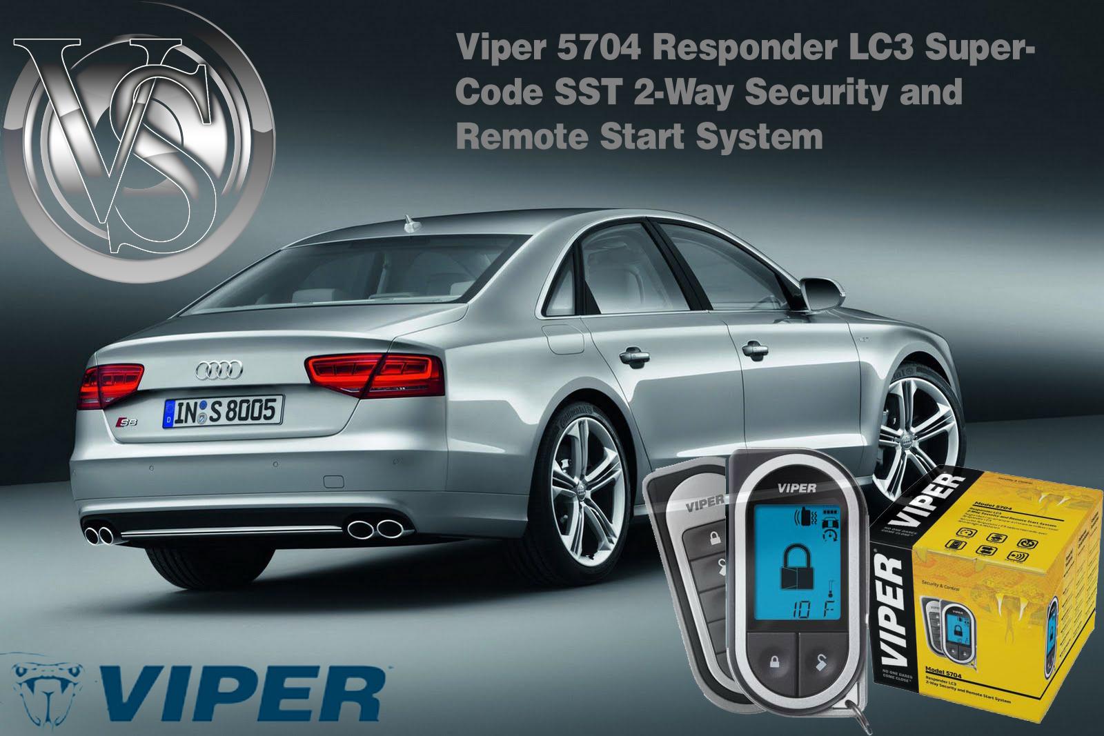Viper 5704V Remote Start Alarm