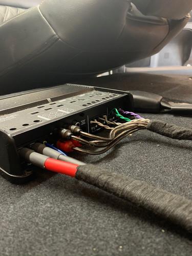 Amplifier Installation Wiring