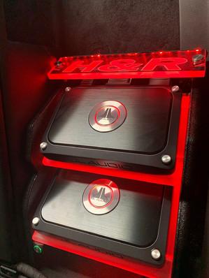 Custom Amplifier Rack