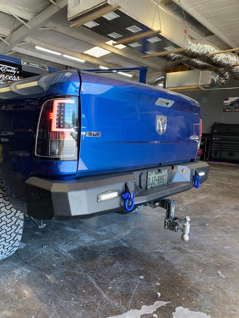 Road Armor Bumper