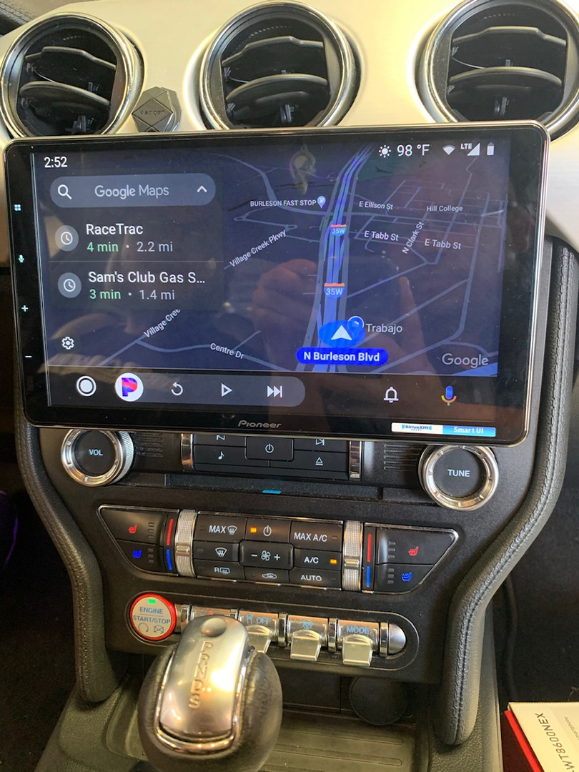"Pioneer 10"" Radio Install 2019 Ford Mustang"