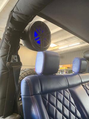 JL Audio M6 Pods with RGB