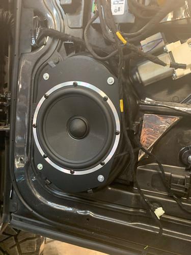 Custom Speaker Installation