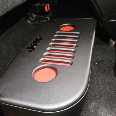 Custom Jeep Gladiator Enclousre