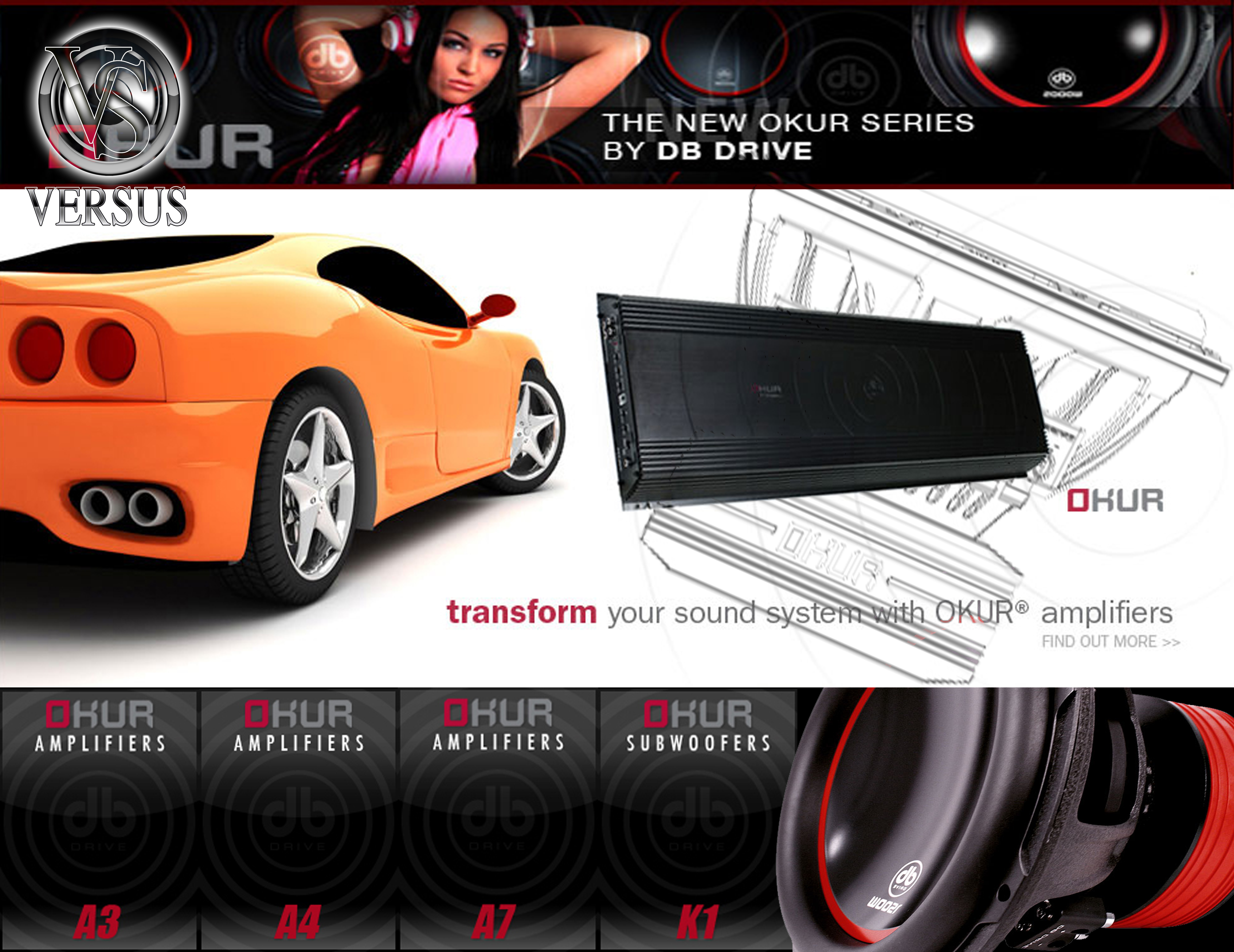 d.b Drive Amplifiers