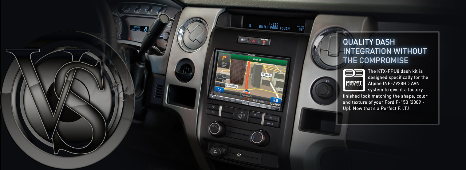 Alpine Perfect Fit DVD Receivers