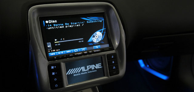 Alpine Custom Double Din