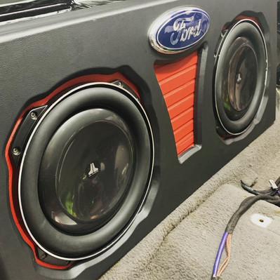 Custom Ford Enclousre