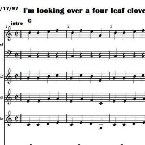 I'm Looking for a Four Leaf Clover Brac 1 & Bug