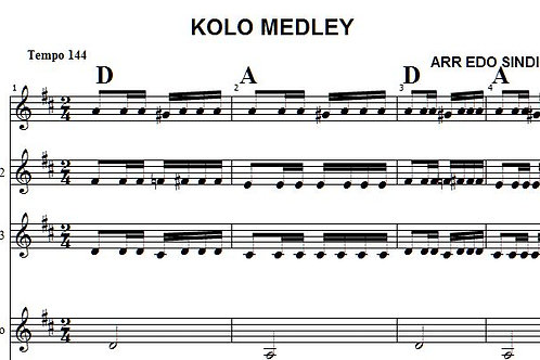 Kolo Medley  5 Parts