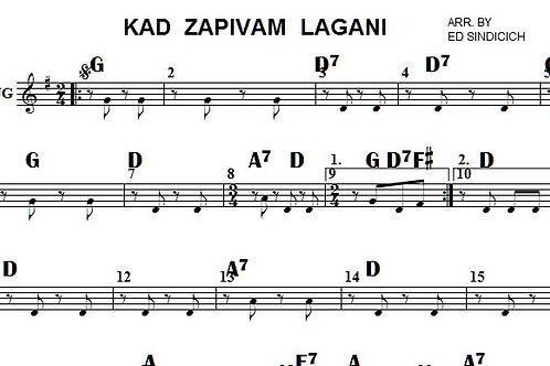 Kad Zapivam Lagani 8 parts