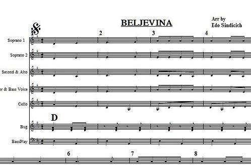 Beljevina 8 Parts with 5 vocals