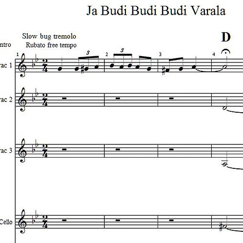 Ja Budi Budi Varala Brac 1 & Bugarija