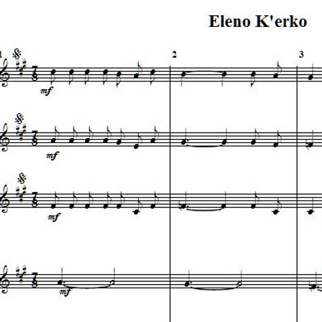 Eleno K'erko Eleno Brac 1 & Bugarija PDF