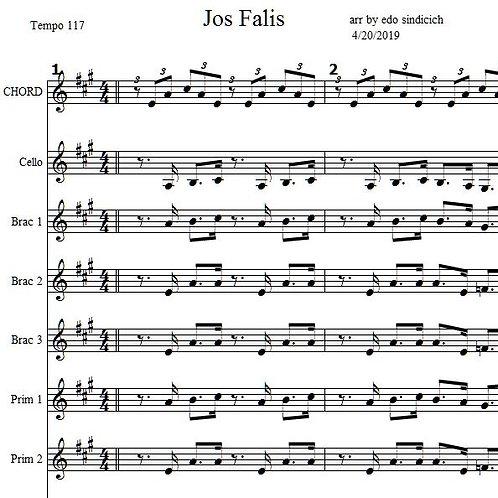 Jos Falis 9 Parts & Lyrics