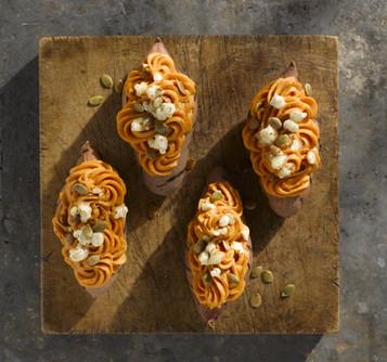 Recipe Development & Creative Direction, North Carolina Sweet Potato Commission