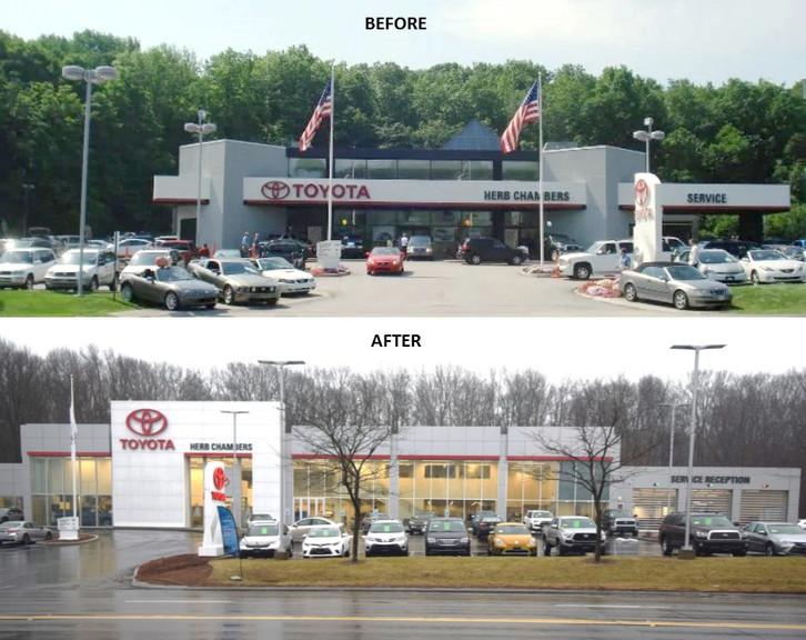 Herb Chambers Auburn >> Herb Chambers Toyota Of Auburn Renovations Are Complete
