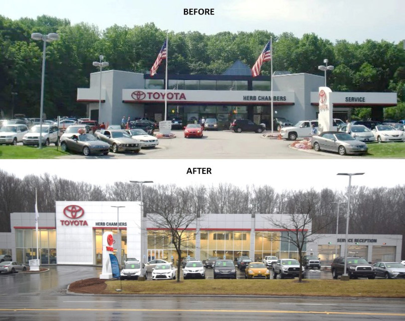 Herb Chambers Toyota of Auburn renovations are complete!
