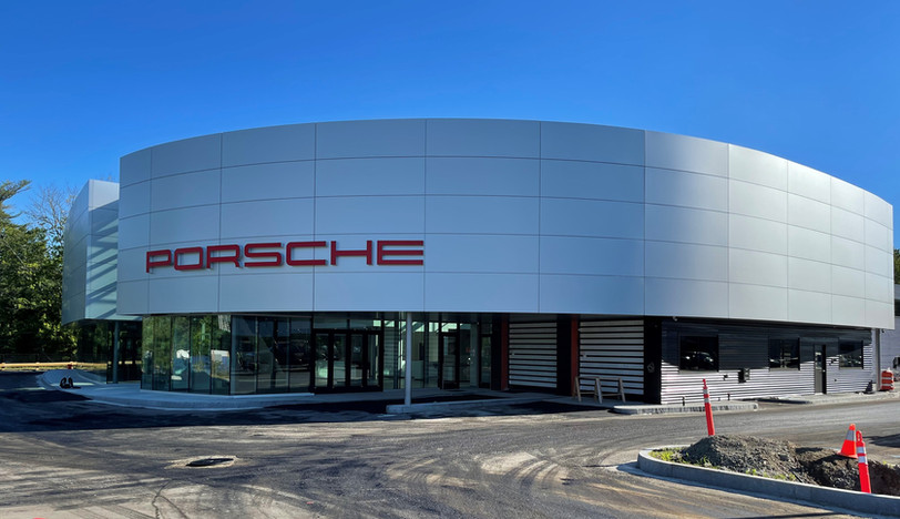 Check out the signage just installed at Herb Chambers Porsche of Burlington.