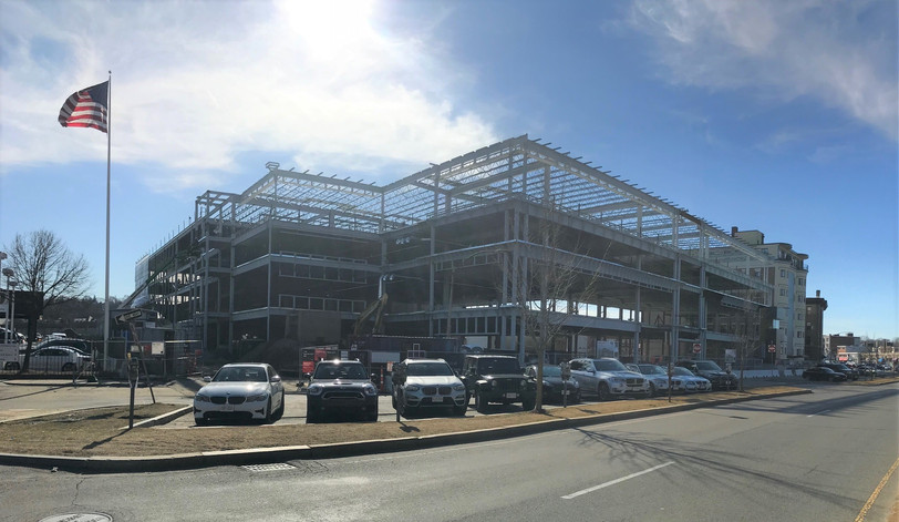 Great progress at Jaguar Land Rover of Boston!