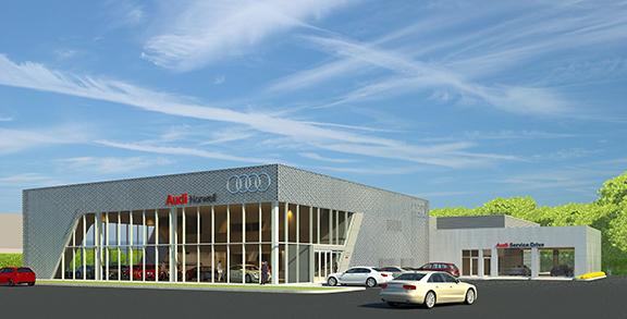 Audi Of Norwell Regent Associates Inc Architects - Audi norwell