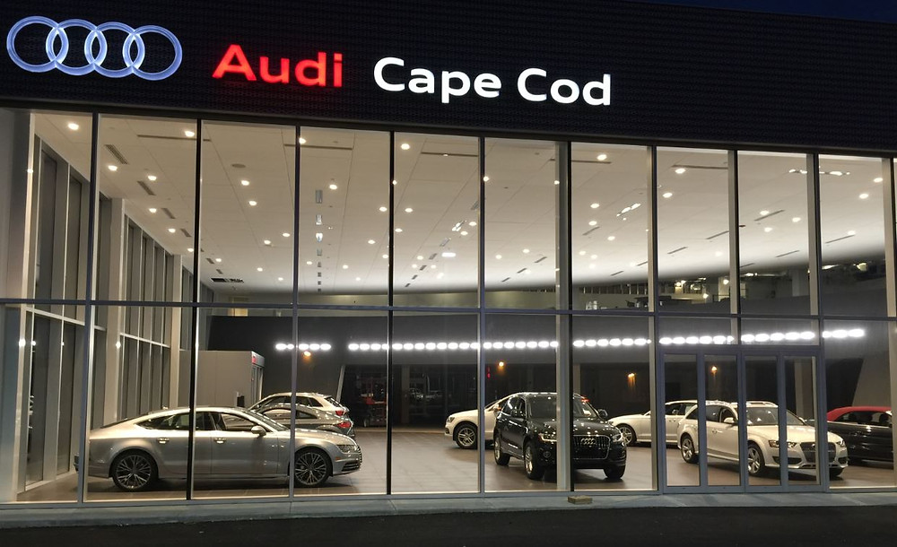 We're almost done in Hyannis! Summer on the Cape is always busy, and Audi Cape Cod is no different exception. The finishing touches are being applied and this gorgeous dealership is nearly ready to have its ribbon ceremony. Regent couldn't be more excited to complete this project and have the public visit this state of the art showroom very soon.