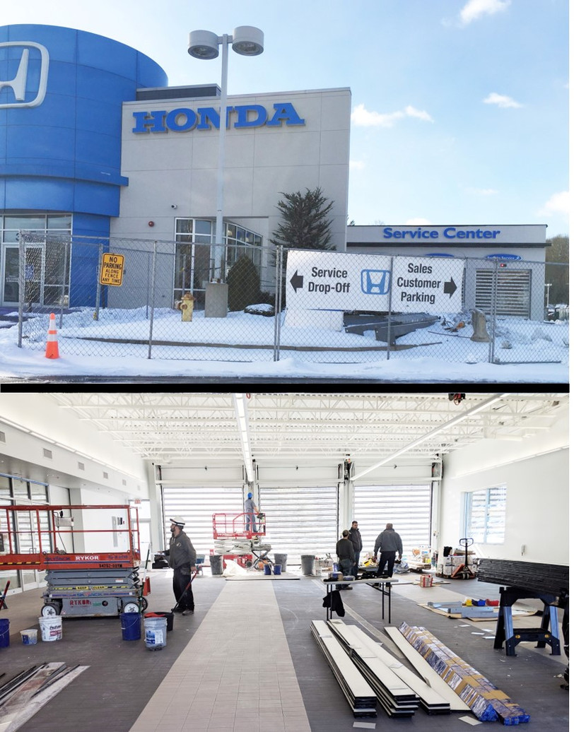 Making steady progress with various renovations and a Service Center addition to Herb Chambers Honda