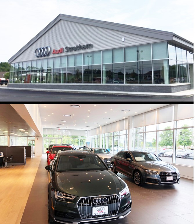 Additions and renovations to Audi Stratham is now complete for International Cars, Ltd.