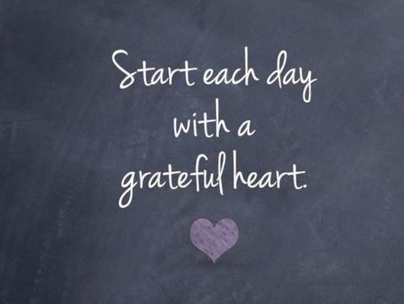 I'm Grateful for.........