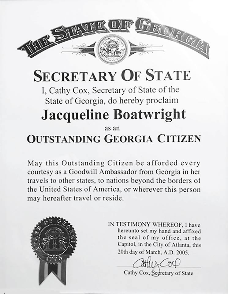 Outstanding Ga Citizen