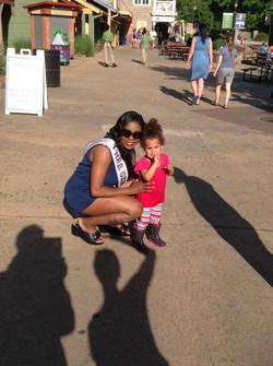 Children At Decatur Fest